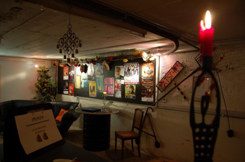 Partyknaller im Fischbachkeller mit Musik & Barbetrieb.