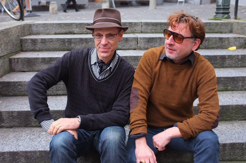 Bin gleich zurück – Leseabend der besonderen Art mit Beat Schlatter & Stephan Pörtner