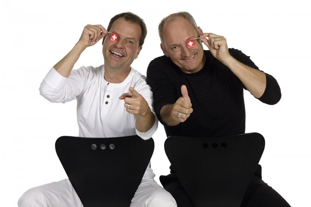 """Comedyduo """"SUTTER + PFÄNDLER""""mit dem neuen Erfolgs-Programm """"Glanz + Gloria"""""""
