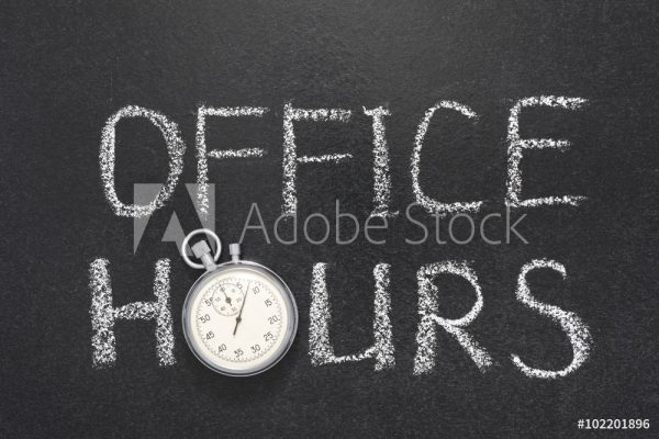Office Hours/Days